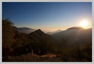 Views of the Mountains Near Sunset Coming out of Sequoia National Park 10.jpg