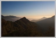 Views of the Mountains Near Sunset Coming out of Sequoia National Park 09.jpg